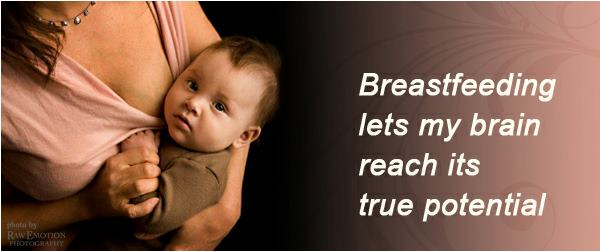 breastfeeding brain potential